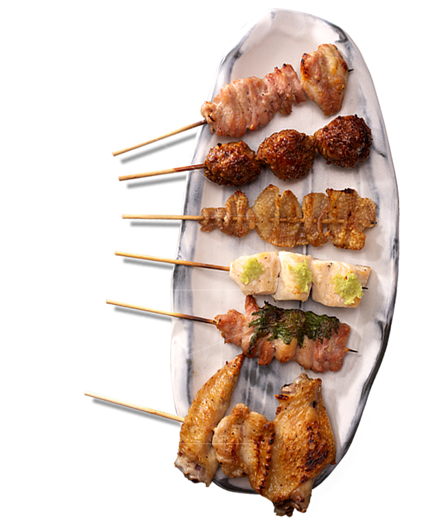 Yakitori・Grilled skewers